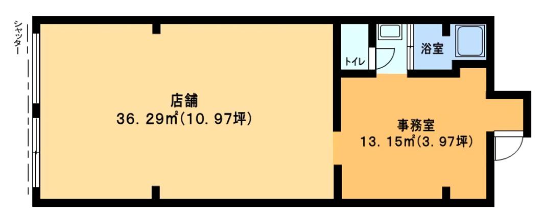 海老名市国分寺台2丁目貸店舗物件【飲食可】募集開始しました!