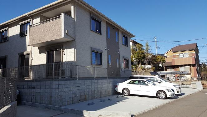 新築かしわ台賃貸アパート2LDK+Sの募集開始