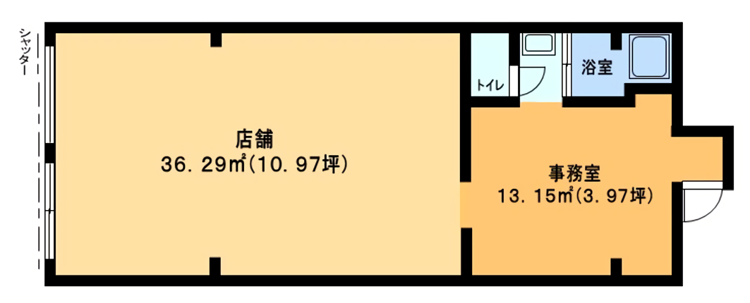 海老名市国分寺台2丁目貸店舗物件【飲食可】募集開始しました!【成約済み】