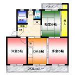 【駅近ペット可】コーポ渡辺303 湘南台5丁目賃貸2LDKマンション 画像1