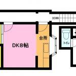 【リフォーム済】飯田国分寺台アパート2F|海老名市国分寺台2丁目賃貸1SDKアパート 画像1