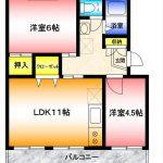 【インターネット無料】サンスクウェア湘南台106|湘南台2丁目賃貸2LDKマンション 画像1