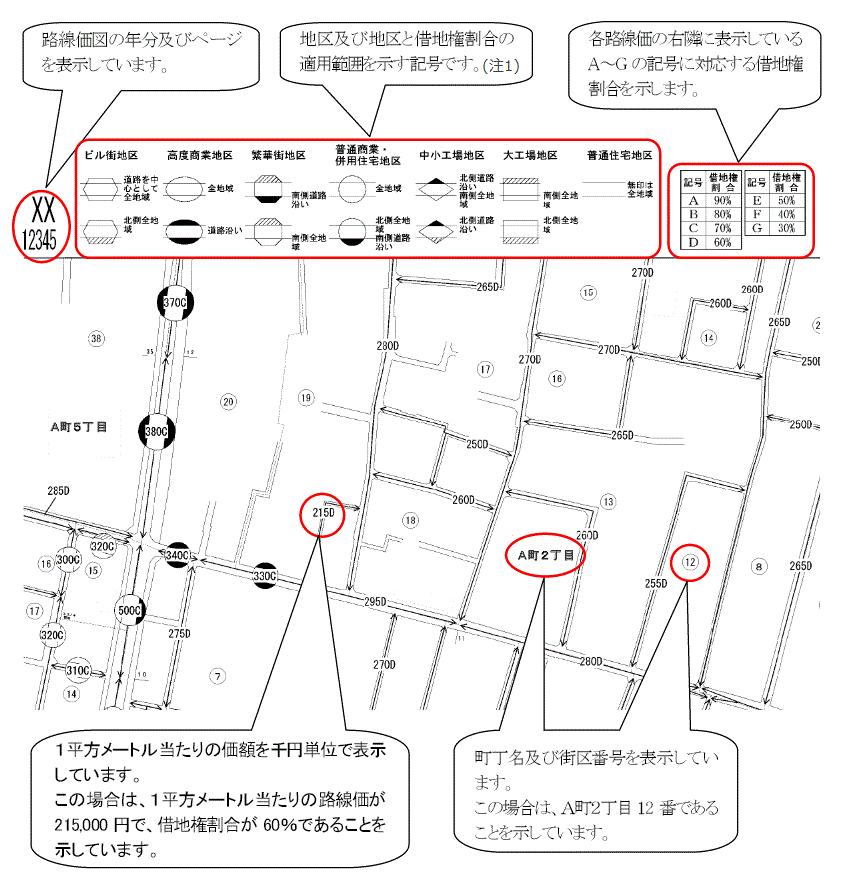 XX 12345 - rosenka.nta.go.jp
